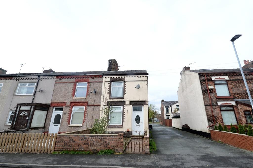2 Bedrooms End Of Terrace House for sale in Fairclough Street, Burtonwood, Warrington