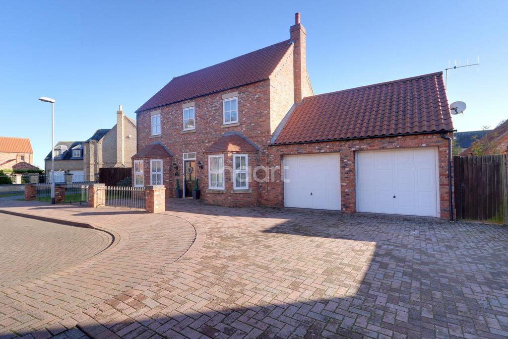 4 Bedrooms Detached House for sale in Abbey Park, Torksey