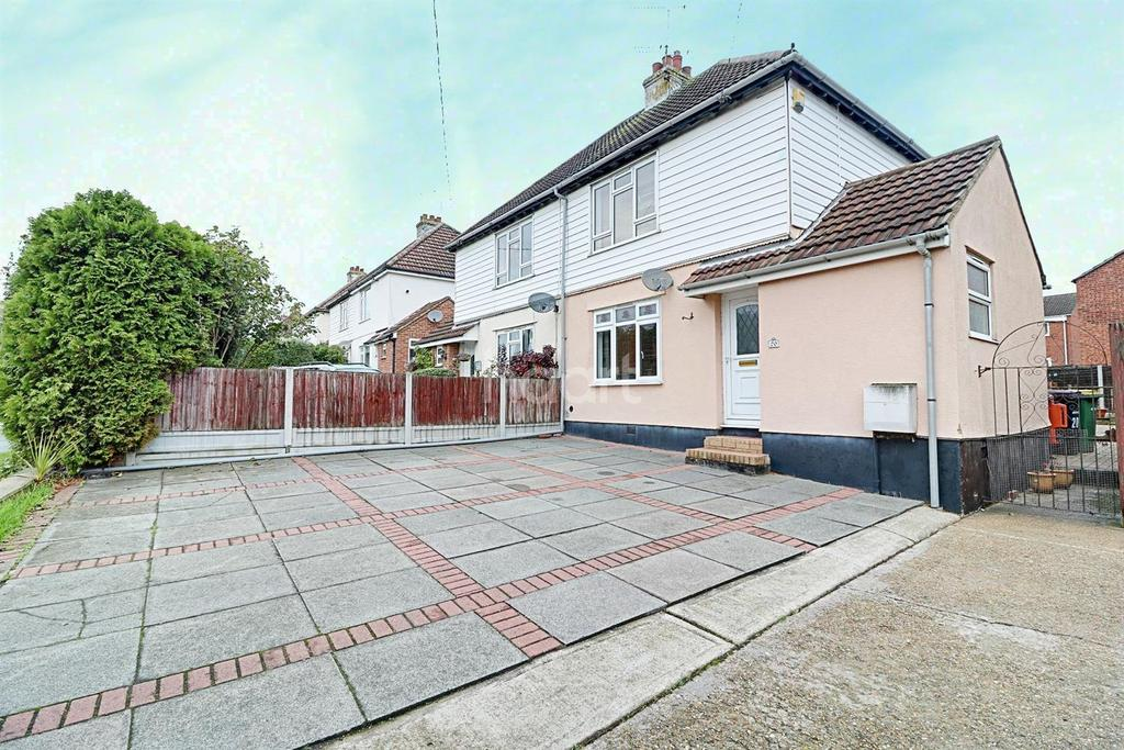 3 Bedrooms Semi Detached House for sale in Hambro Hill. Rayleigh