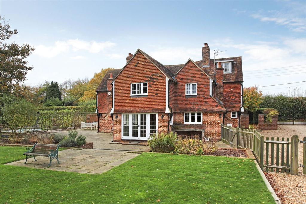 4 Bedrooms Detached House for sale in Bush Road, East Peckham, Tonbridge, Kent, TN12