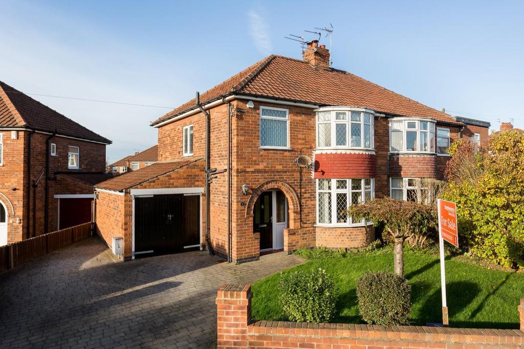 3 Bedrooms Semi Detached House for sale in Farndale Avenue, Osbaldwick, York