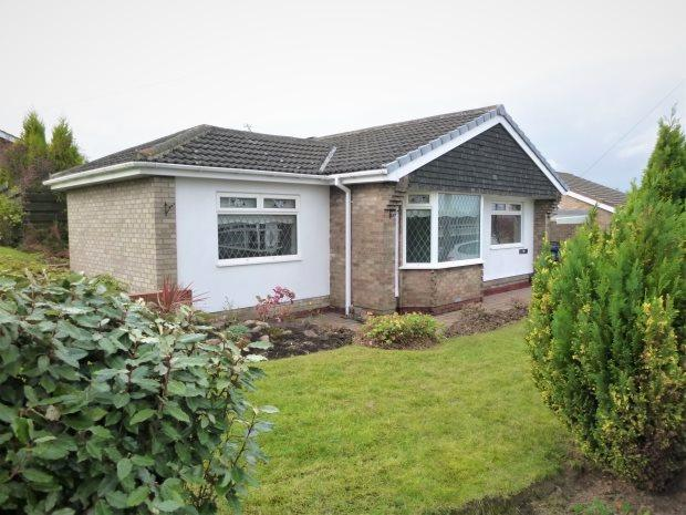 2 Bedrooms Detached Bungalow for sale in SEVENOAKS DRIVE, HASTINGS HILL, SUNDERLAND SOUTH