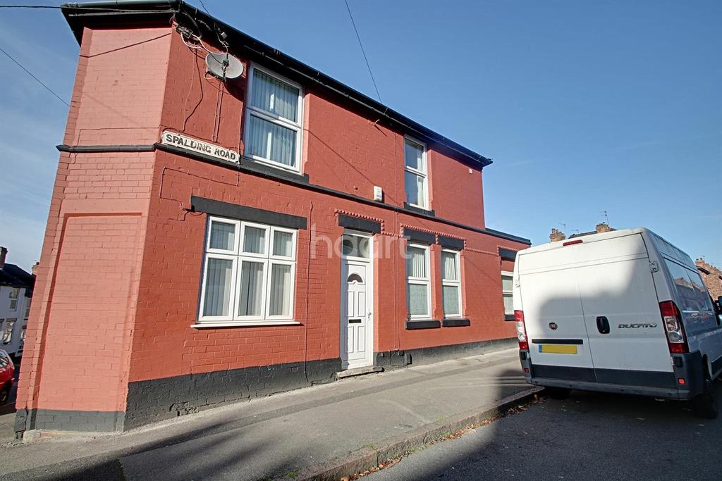 2 Bedrooms End Of Terrace House for sale in Spalding Road, Nottingham