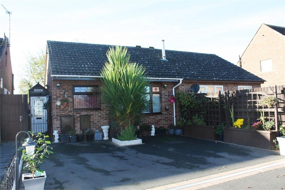 1 Bedroom Semi Detached Bungalow for sale in Charnwood Avenue, Asfordby, MELTON MOWBRAY