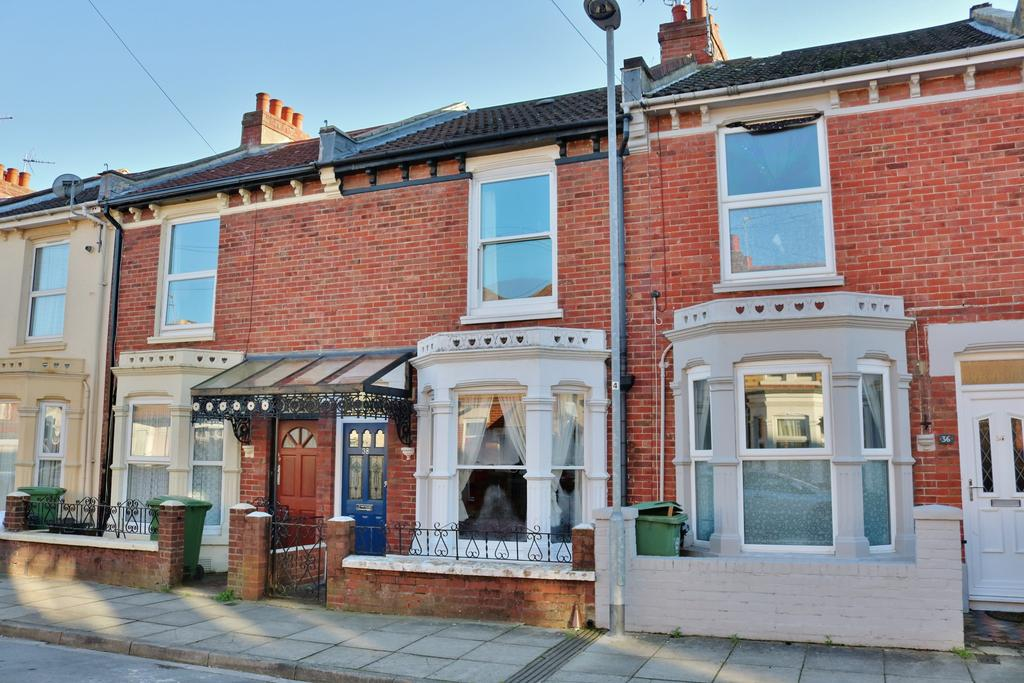 3 Bedrooms Terraced House for sale in Posbrooke Road, Milton, Southsea