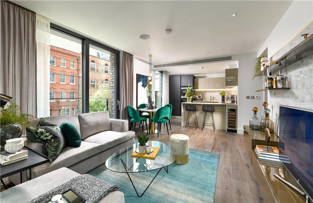 2 Bedrooms Flat for sale in Cassia House, Piazza Walk, Aldgate, E1