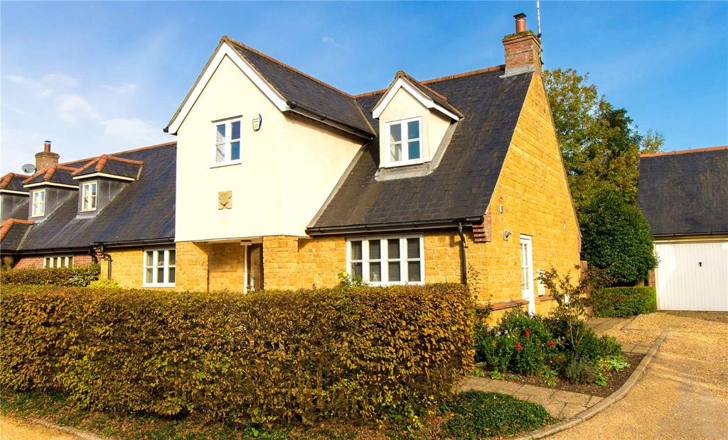 4 Bedrooms Detached House for sale in Turners Farm Close, Hannington, Northamptonshire, NN6