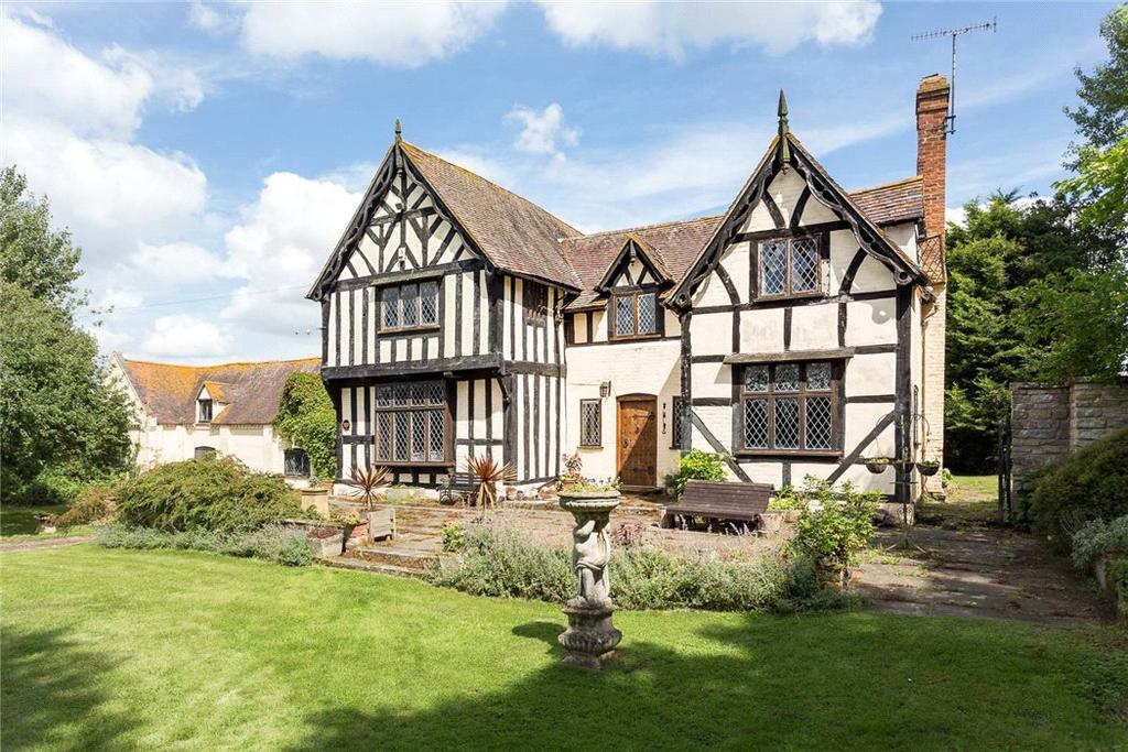 5 Bedrooms Detached House for sale in Queenhill, Upton-upon-Severn, Worcester, Worcestershire, WR8