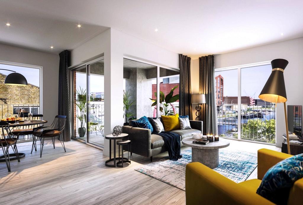 1 Bedroom Flat for sale in Hackney Wick, London, E3