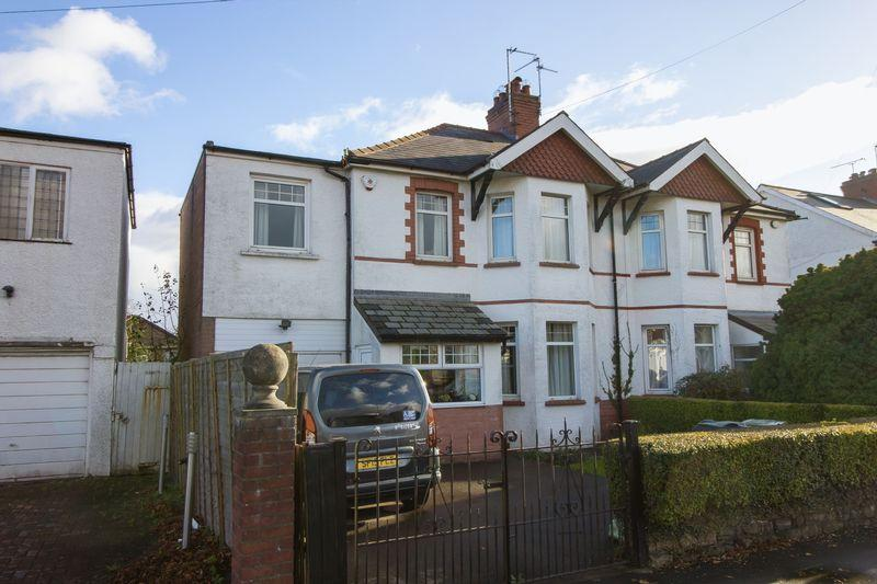 4 Bedrooms Semi Detached House for sale in Rhydypenau Road, Cardiff