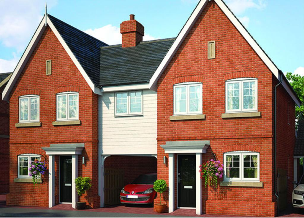 3 Bedrooms Semi Detached House for sale in Rectory Road, Rowhedge, Colchester