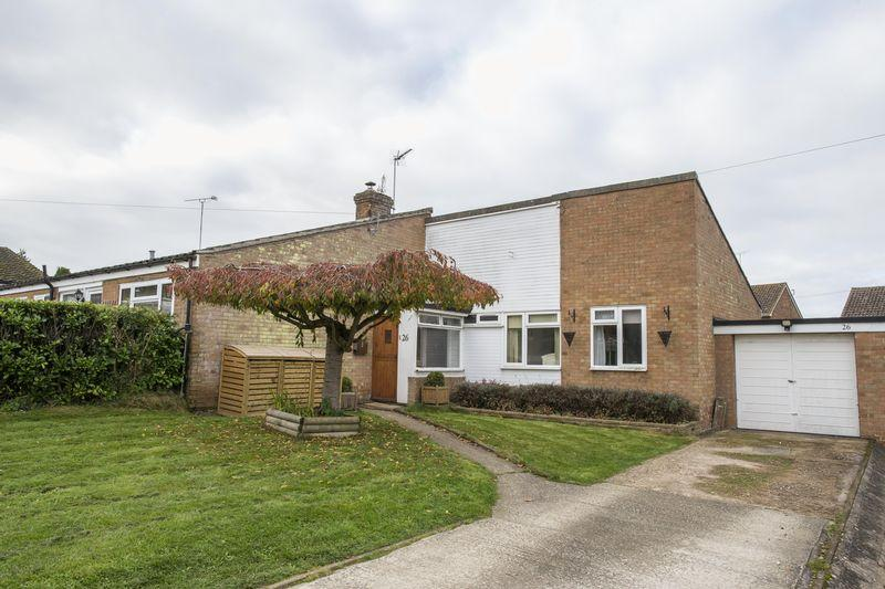 3 Bedrooms Semi Detached Bungalow for sale in Raynsford Road, Great Whelnetham