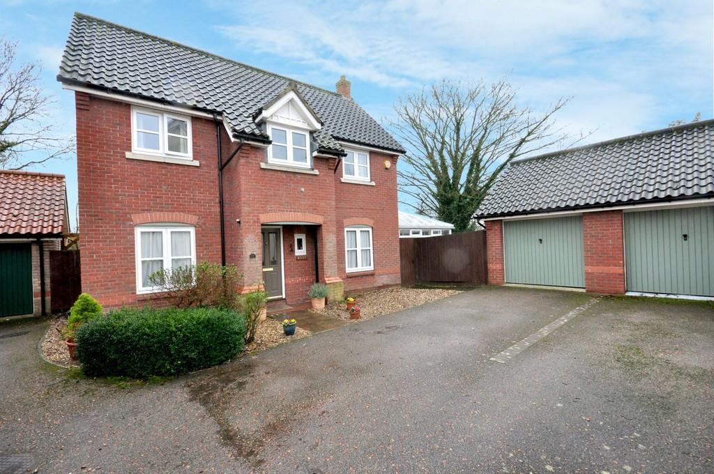 3 Bedrooms Detached House for sale in Cornfields, Dickleburgh