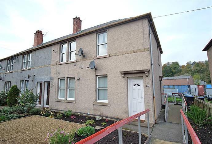 2 Bedrooms Flat for sale in 69 Bongate, Jedburgh, TD8 6DU