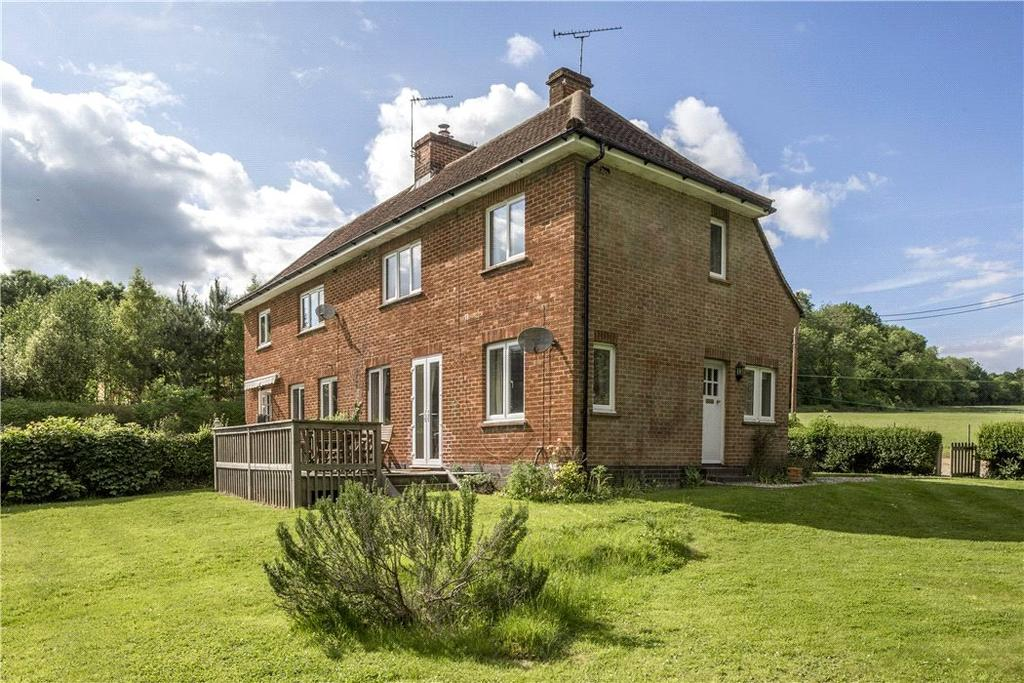 2 Bedrooms Semi Detached House for sale in Dunley, Whitchurch, Hampshire, RG28