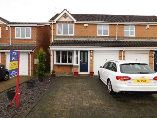 3 Bedrooms Semi Detached House for sale in ANGUS SQUARE, LANGLEY MOOR, DURHAM CITY : VILLAGES WEST OF