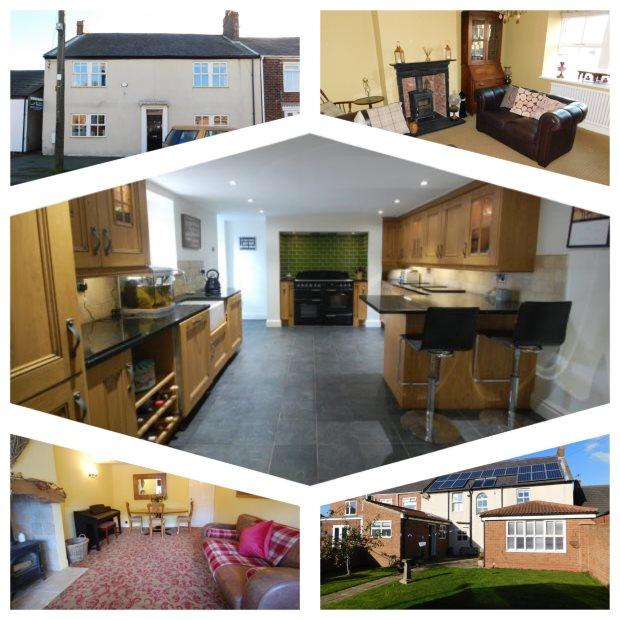 4 Bedrooms Terraced House for sale in FRONT STREET SOUTH, CASSOP, DURHAM CITY : VILLAGES EAST OF