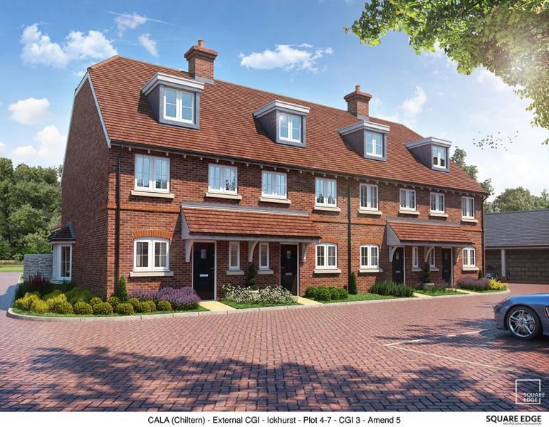 2 Bedrooms Terraced House for sale in Plot 6, Edward Park, Manor Farm, Abingdon Road, Drayton Oxfordshire