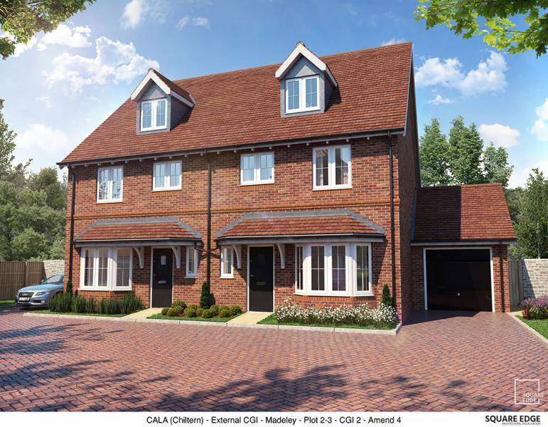 3 Bedrooms Semi Detached House for sale in Plot 3, Edward Park, Manor Farm, Abingdon Road, Drayton Oxfordshire
