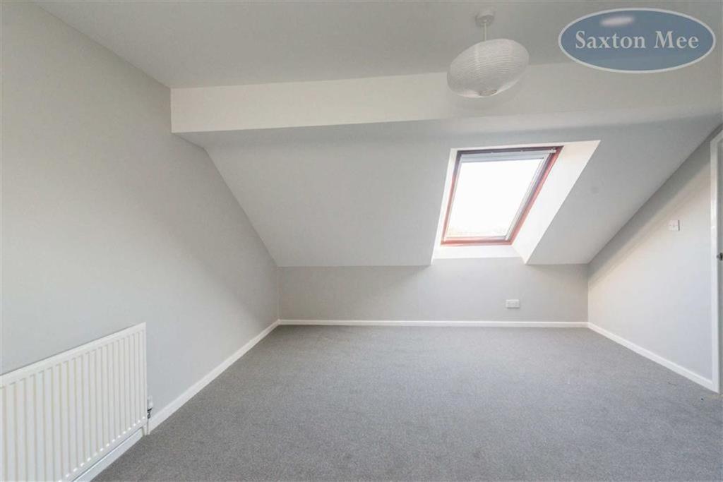 Large attic bedroom