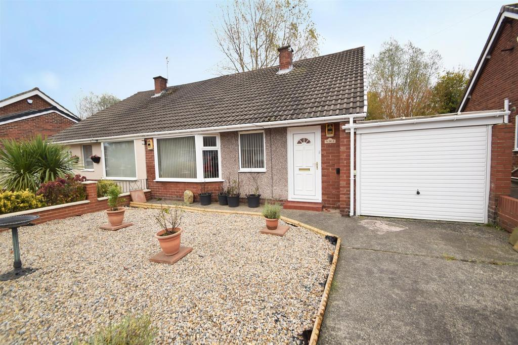 2 Bedrooms Semi Detached Bungalow for sale in Warkworth Crescent, Gosforth