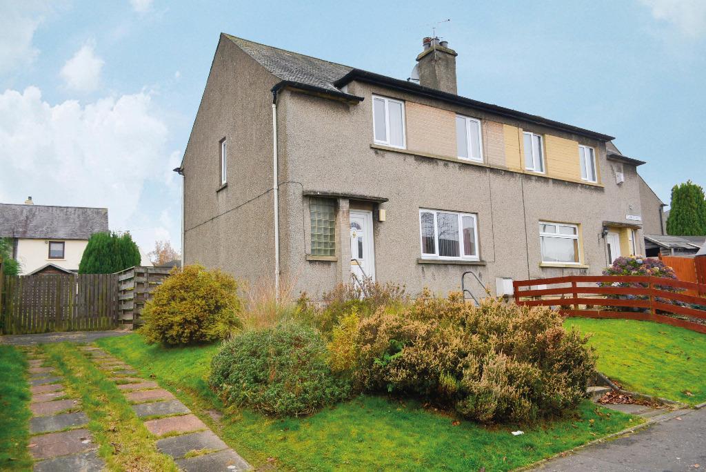 3 Bedrooms Semi Detached House for sale in Clark Street, Bannockburn, Stirling, FK7 0JP