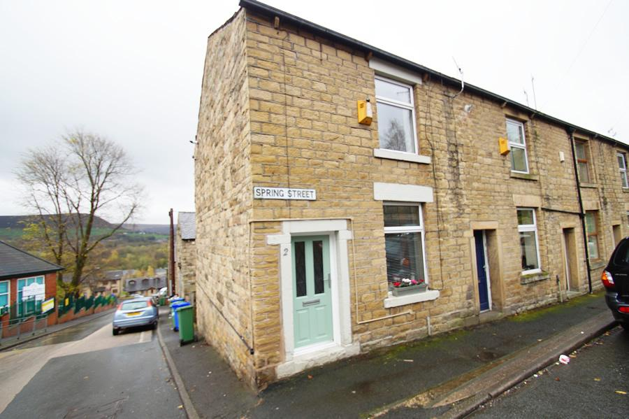 2 Bedrooms End Of Terrace House for sale in Spring Street, Mossley OL5
