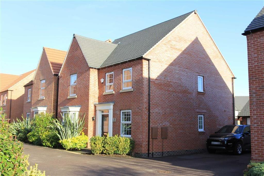 4 Bedrooms Detached House for sale in Loddington Close, Syston, Leicestershire