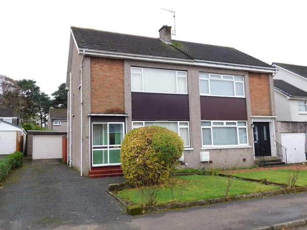 3 Bedrooms Semi-detached Villa House for sale in 11 Dunvegan Drive, Bishopbriggs, Glasgow, G64 3LB