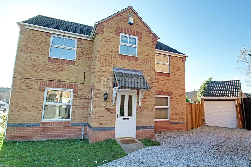4 Bedrooms Detached House for sale in Swallow Crescent, Rawmarsh