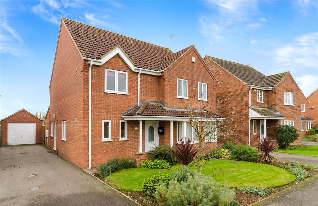 4 Bedrooms Detached House for sale in Orchard Close, Great Hale, Sleaford, Lincolnshire, NG34