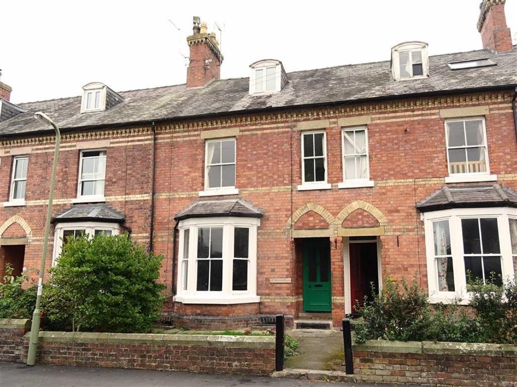 5 Bedrooms Terraced House for sale in 14, Queens Road, Oswestry, Shropshire, SY11