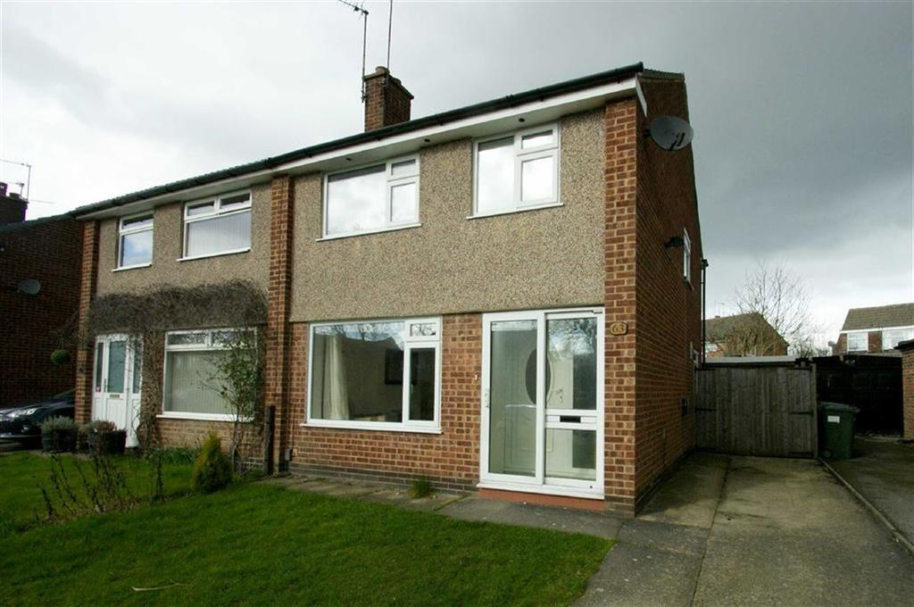 3 Bedrooms Semi Detached House for sale in Plantation Gardens, Alwoodley, LS17