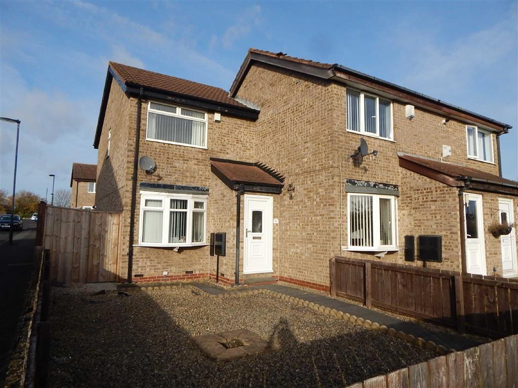 2 Bedrooms Terraced House for sale in Chelford Close, Hadrian Park, Wallsend, NE28