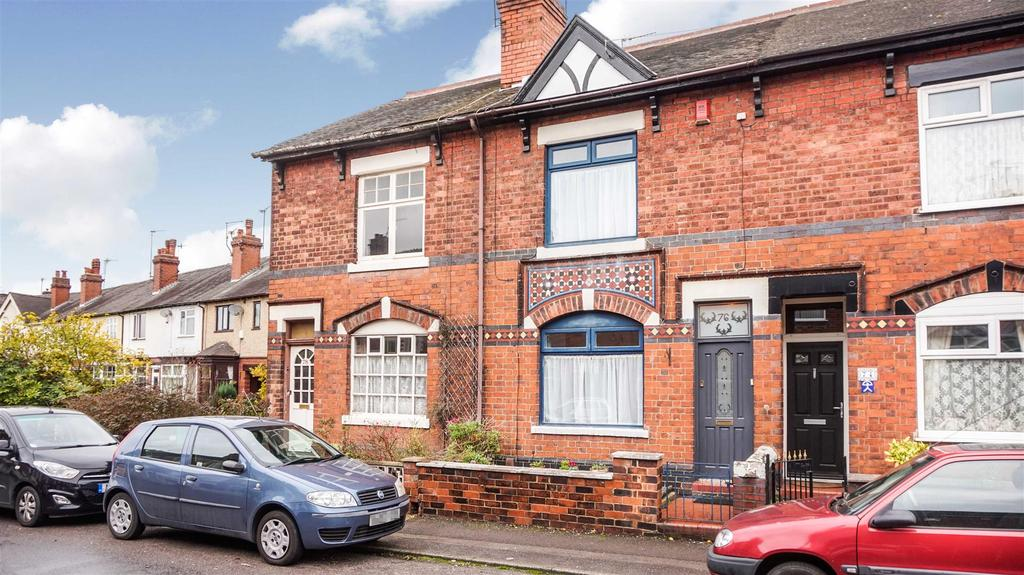 2 Bedrooms Terraced House for sale in Dimsdale Parade East, Wolstanton, Newcastle