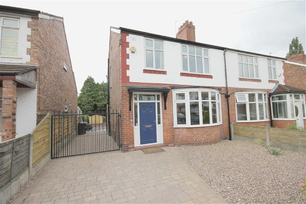 3 Bedrooms Semi Detached House for sale in Poplar Road, Burnage, Manchester