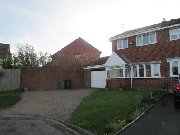 3 Bedrooms Semi Detached House for sale in RAVENWOOD CLOSE, CLAVERING, HARTLEPOOL