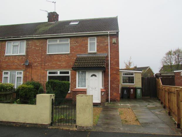 2 Bedrooms Semi Detached House for sale in THIRSK GROVE, STOCKTON ROAD, HARTLEPOOL