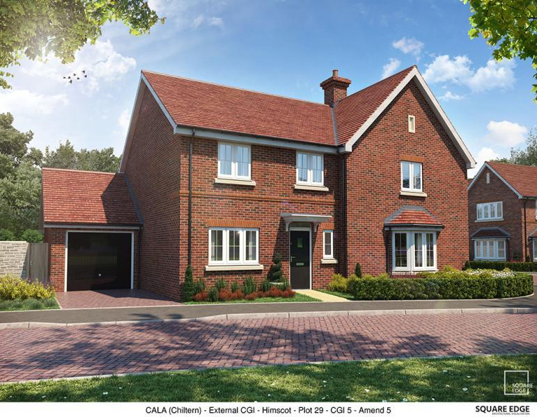 2 Bedrooms Semi Detached House for sale in Plot 29, Edward Park, Manor Farm, Abingdon Road, Drayton Oxfordshire