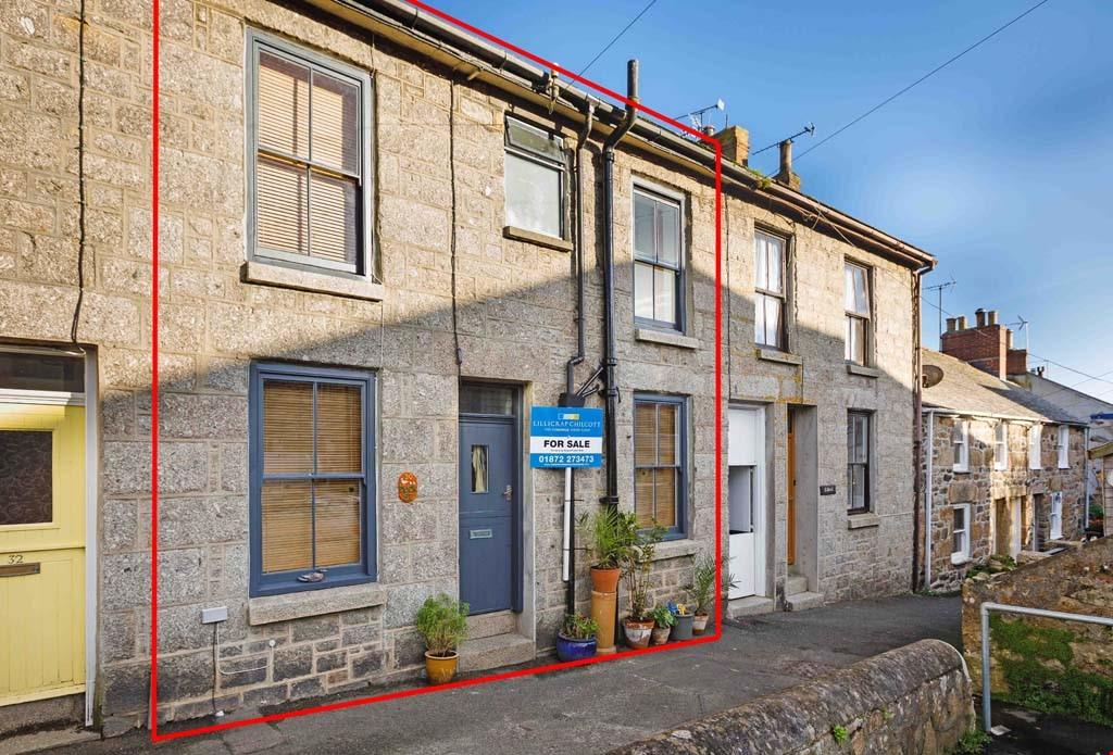 2 Bedrooms Terraced House for sale in Duck Street, Mousehole, Nr. Penzance, West Cornwall, TR19