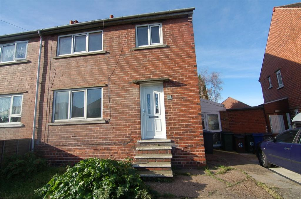 4 Bedrooms Semi Detached House for sale in Wilson Street, Wombwell, BARNSLEY, South Yorkshire