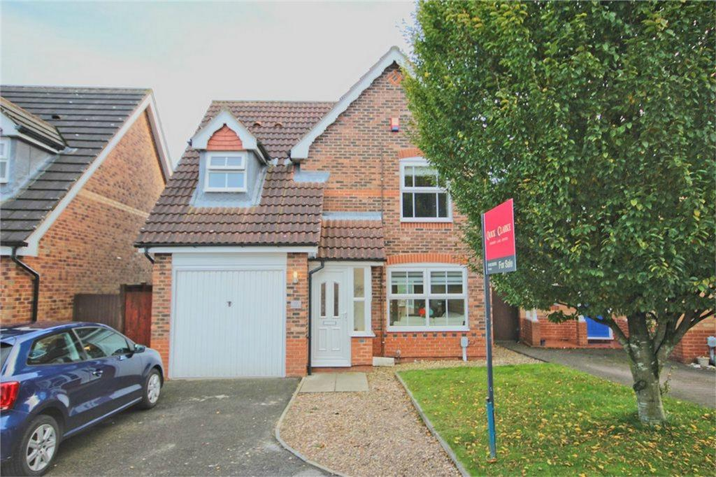 3 Bedrooms Detached House for sale in Megson Way, Walkington, Beverley, East Riding of Yorkshire