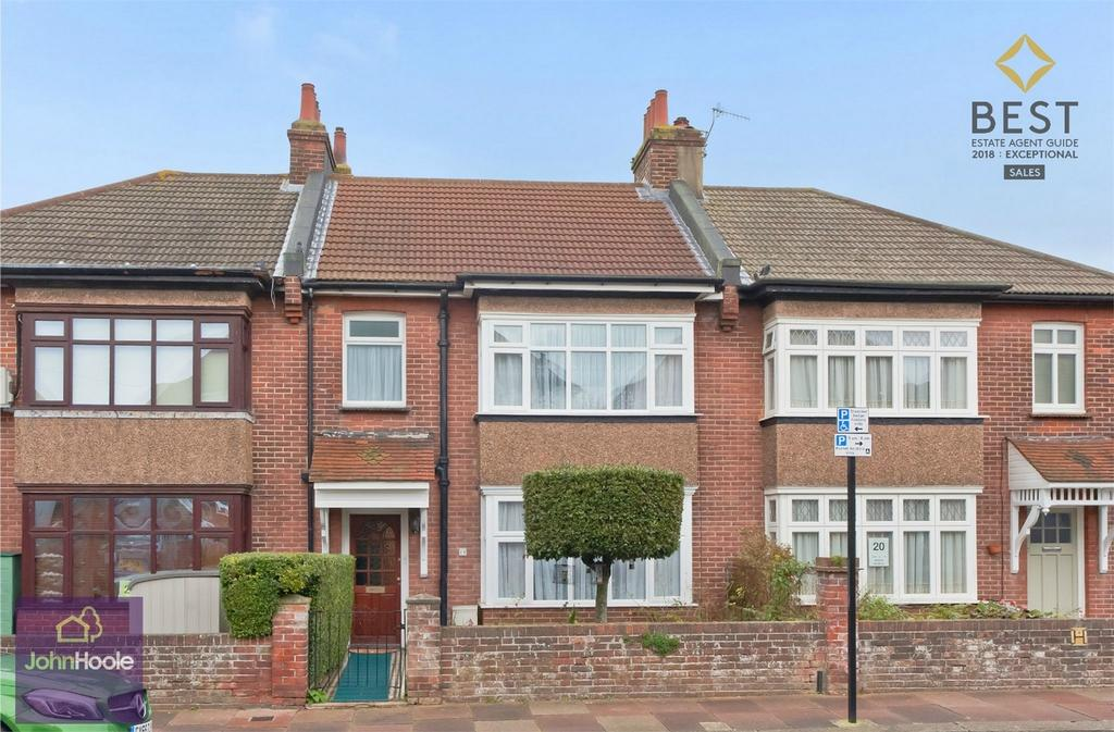 3 Bedrooms Terraced House for sale in Reigate Road, BRIGHTON, East Sussex