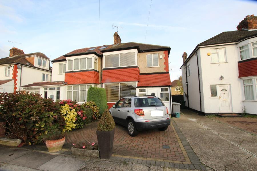 3 Bedrooms Semi Detached House for sale in Second Avenue, off Preston Road HA9 8QF