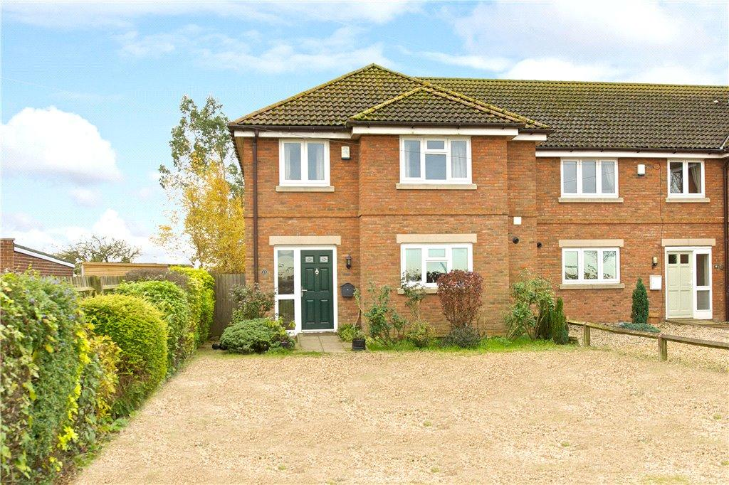 3 Bedrooms End Of Terrace House for sale in Holywell Cottages, Thornton Road, Nash, Milton Keynes