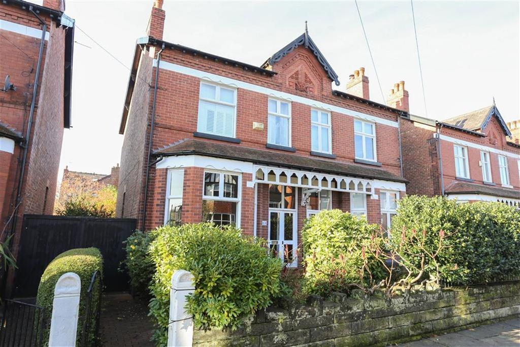 4 Bedrooms Semi Detached House for sale in Sutton Road, Heaton Norris