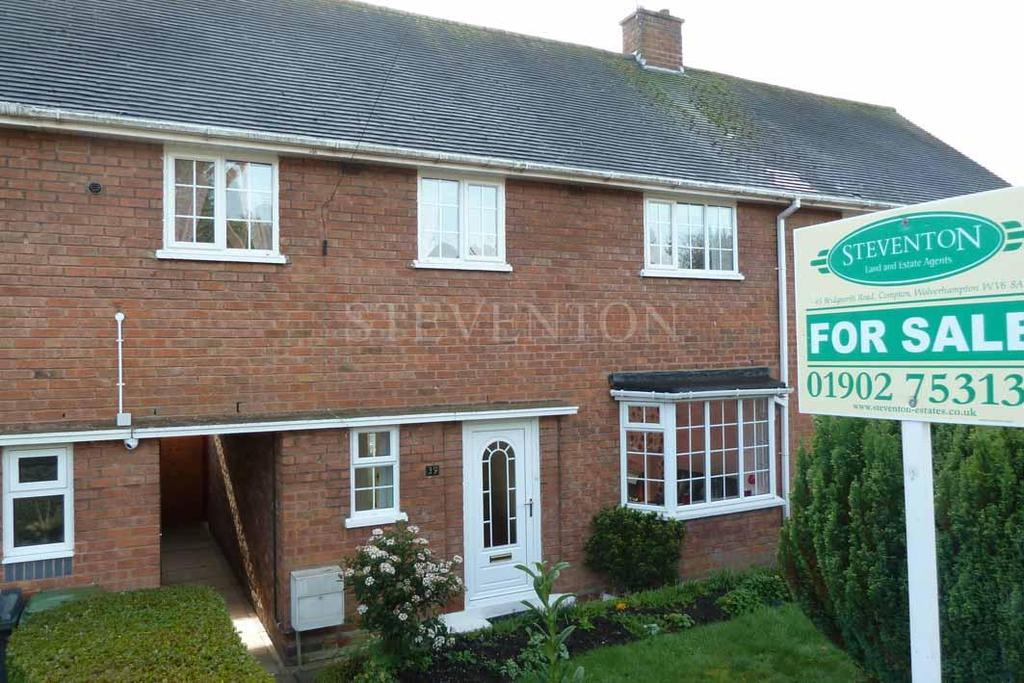 3 Bedrooms Terraced House for sale in Pool Hall Crescent, Castlecroft, Wolverhampton, WV3