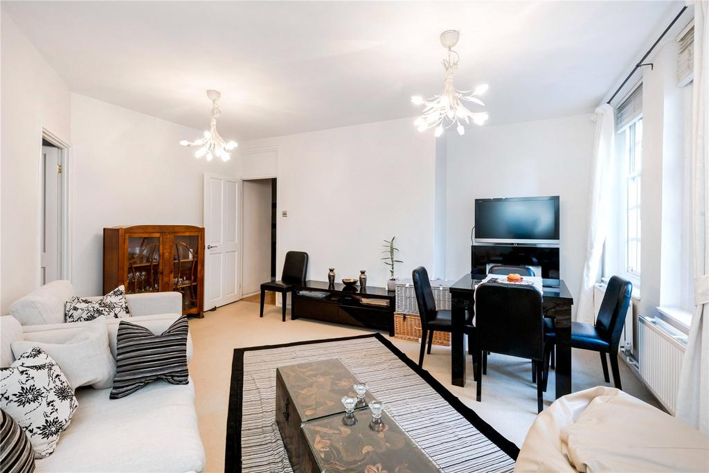 3 Bedrooms Flat for sale in Ruskin House, Erasmus Street, London, SW1P