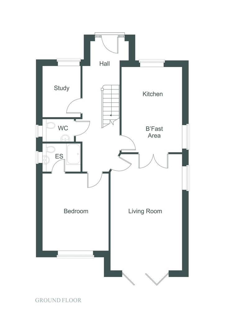 Floorplan 1 of 2: Floor Plan Ground Fl