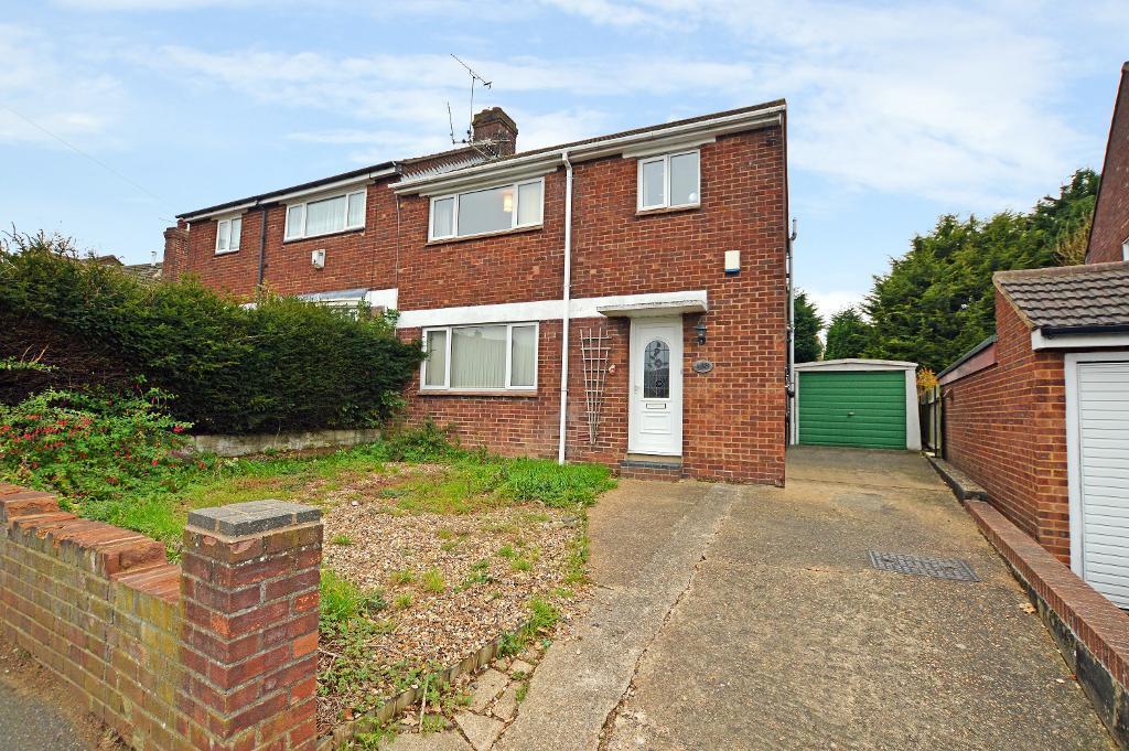 3 Bedrooms Semi Detached House for sale in Meyrick Avenue, South Luton, Luton, LU1 5JS